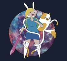 Fionna and Cake Galaxy by Liam Warnock