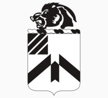 30th Infantry Regiment - Battle Boars Black & White by VeteranGraphics