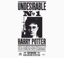 Harry Wanted Poster by nicethreads