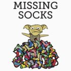 MISSING SOCKS by Redsdesign