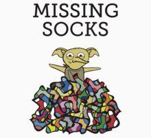 MISSING SOCKS by Redsdesign