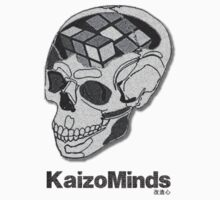 Kaizo Minds - Rubix Skull Design by LewisJFC