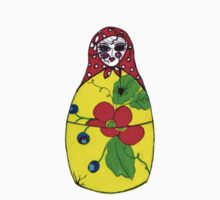 Matryoshka Creepy Nesting Doll by Nalinne Jones