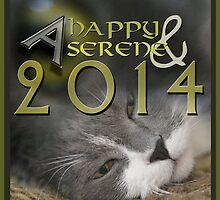 A Happy & Serene 2014 © Vicki Ferrari by Vicki Ferrari