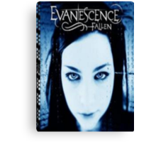 evanscence fallen album art Canvas Print