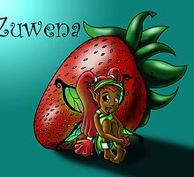 Strawberry Fairy Zuwena by treasured-gift