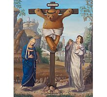 CruciTeddy - Teddy of the Angels, King of the Teddy Bears Photographic Print
