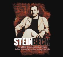 John Steinbeck T-Shirt and Hoodie by OutlawOutfitter