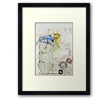 Alice and the Teacups Framed Print