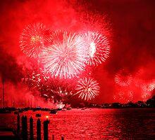 Fireworks Sydney Harbour 2013 by Nina  Matthews Photography
