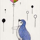 Balloon Penguin by Marysue128