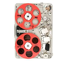Nagra SN recorder iPad case by Duckbear