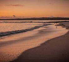 Hyams Beach at sunrise by Chris Brunton