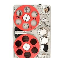 Nagra SN recorder iPhone case by Marcel Flendrie