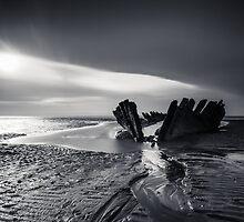 Moody Mono Shipwreck by Gary Clark