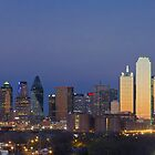 Dallas Skyline Panorama from East of Downtown by RobGreebonPhoto