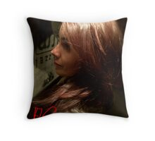 Garden Of Love And Wonderful Red Roses For You . Throw Pillow