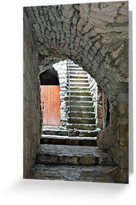 Old village Vogue - Ardeche - France by Arie Koene