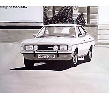 'The Sweeney' Ford Cortina Mk.3 2000GL Photographic Print