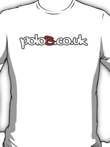 Polo3.co.uk Logo T-Shirt