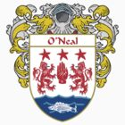 O'Neal Coat of Arms / O'Neal Family Crest by William Martin