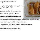 Glazed Orange/ Plum Chicken by MaeBelle