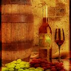 Wine Still Life by WishesandWhims