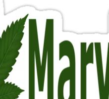 0218 I Love Maryland  Sticker