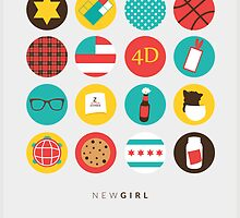 New Girl Things Poster by ImEmmaR