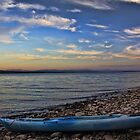 Kayak Sunset II by Brenton Cooper