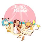 Lilo and Raichu by Steph Hodges
