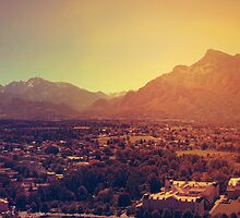 Landscape: Salzburg, Austria by Paula Bielnicka