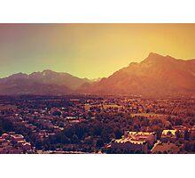 Landscape: Salzburg, Austria Photographic Print
