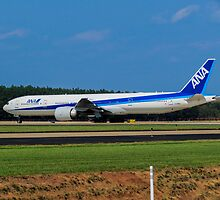 ANA 777-300ER at Dulles Airport IAD by Gsantillan98