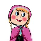 anna of arendelle by Laurynsworld