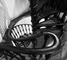 Staircase in State Library of Victoria by Charles Kosina