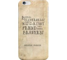 Harry Potter Hermione Granger Quote iPhone Case/Skin