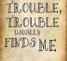 Harry Potter Trouble Quote by Alexandrico