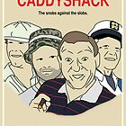 Caddyshack Movie Poster by FinlayMcNevin