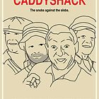 Caddyshack Movie Poster - Plain Version by FinlayMcNevin