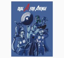 Dial A For Avenge by ceruleanmocha
