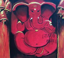 Lord Ganesha by Anil Nene