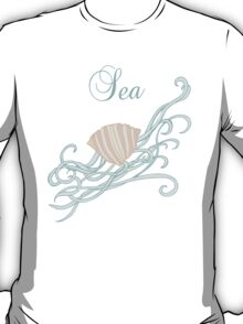 Shell with waves T-Shirt