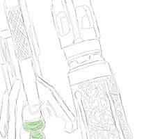 Sonic Screwdriver Sketch by WatkinsG