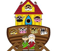 Cute Noahs Ark by MurphyCreative