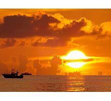 Sun Ring Photographic Print