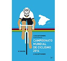 MY UCI Road World Championships MINIMAL POSTER 2014 Photographic Print