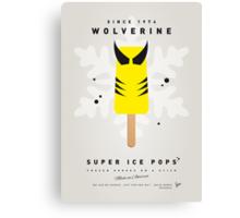 My SUPERHERO ICE POP - Wolverine Canvas Print