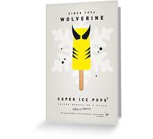 My SUPERHERO ICE POP - Wolverine Greeting Card