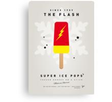 My SUPERHERO ICE POP - The Flash Canvas Print